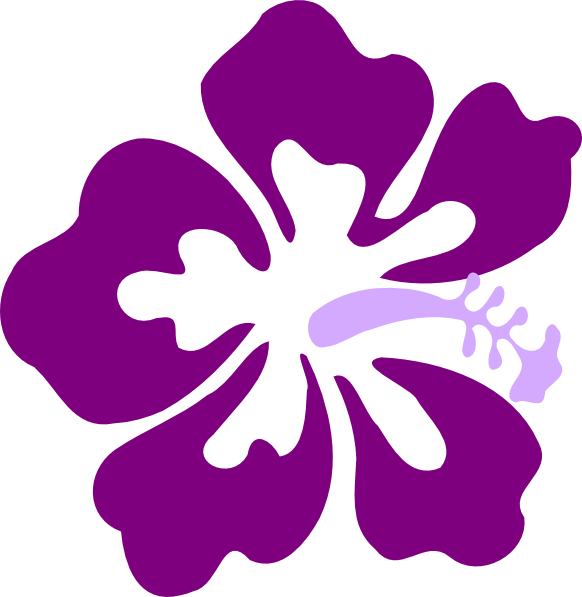 purple flower clip art  clipart panda  free clipart images, Beautiful flower
