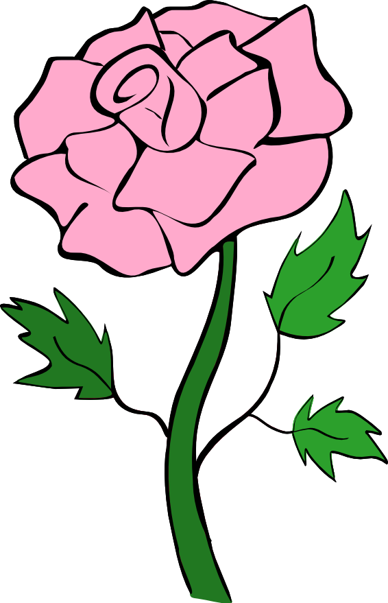 Clipart Pink Roses | Clipart Panda - Free Clipart Images