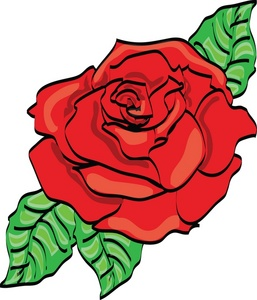 clipart rose