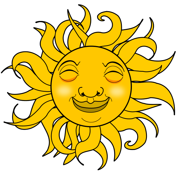 Smiling Sun Clipart | Clipart Panda - Free Clipart Images