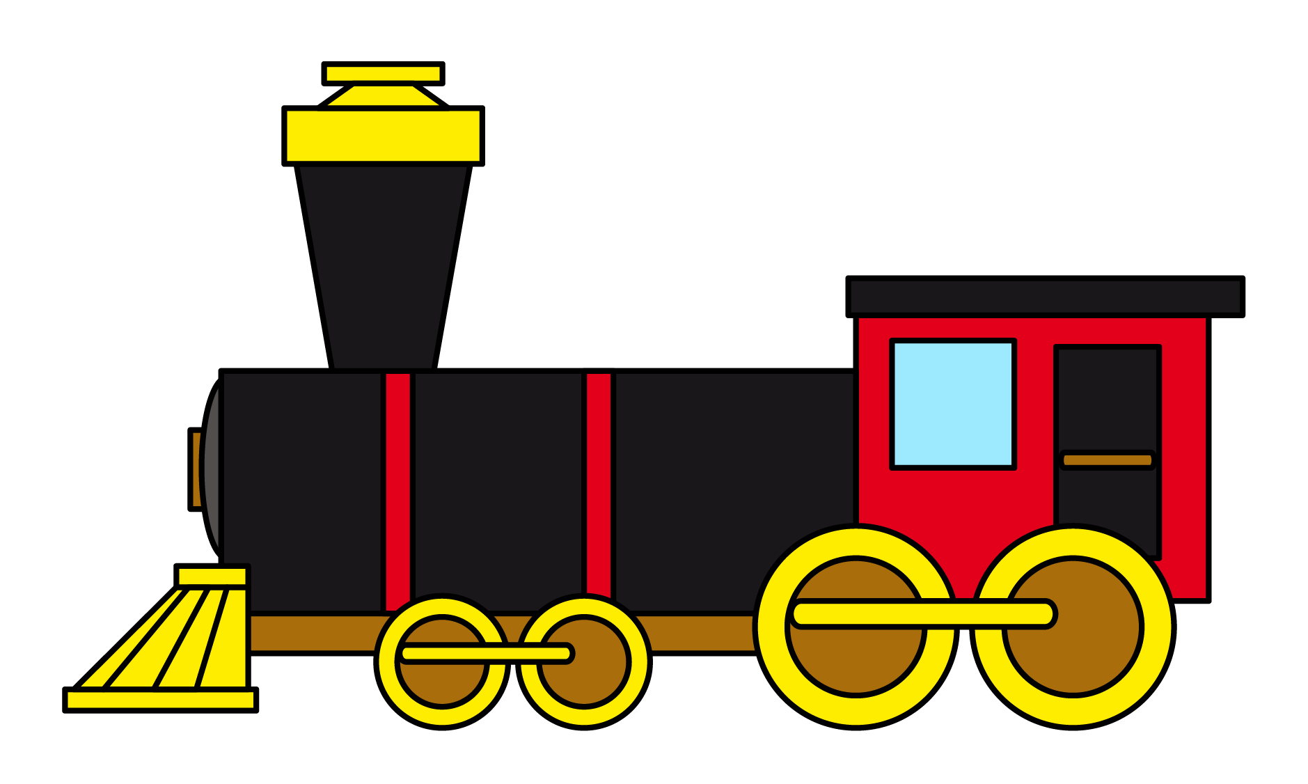Choo Choo Train Clipart | Clipart - 63.3KB