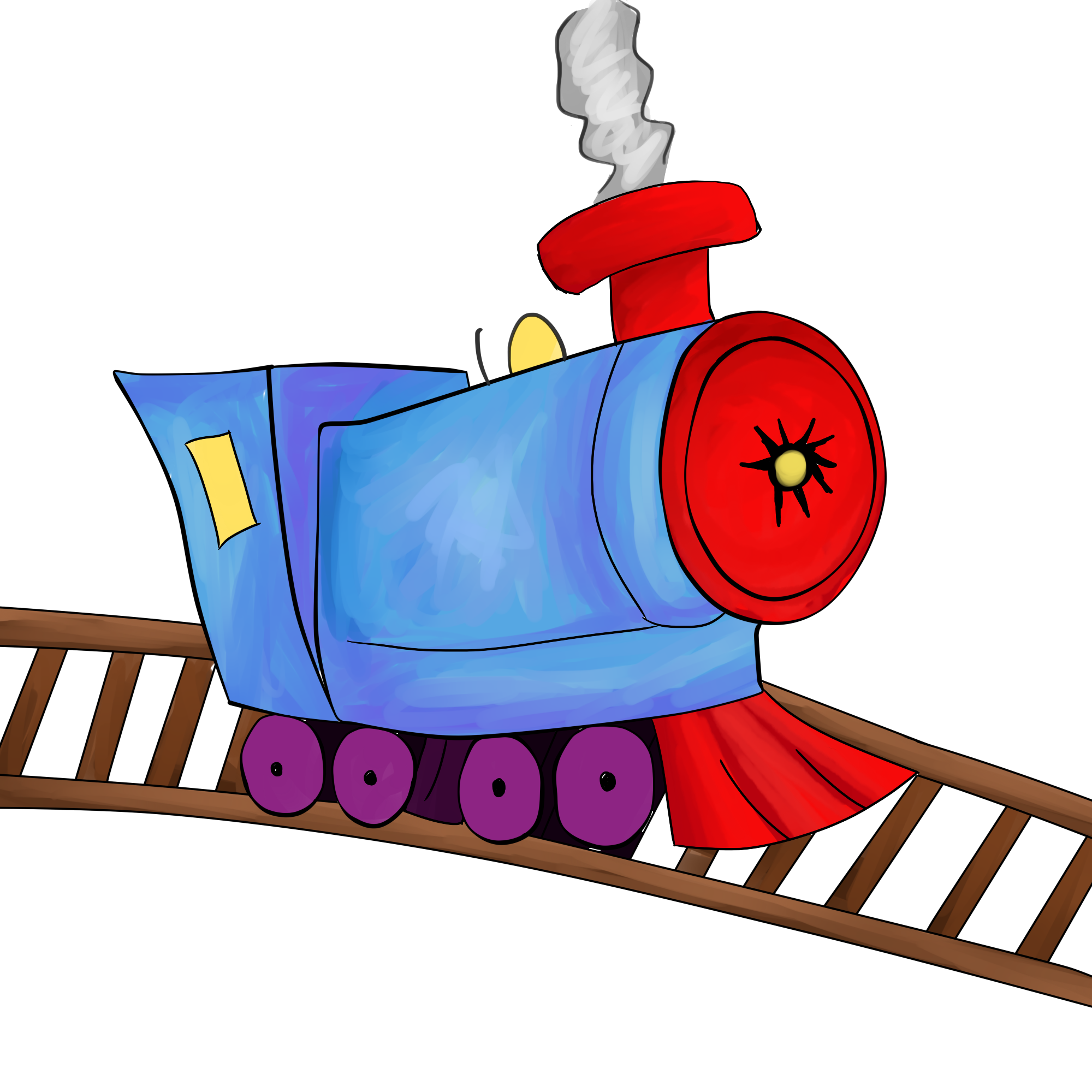 clipart train