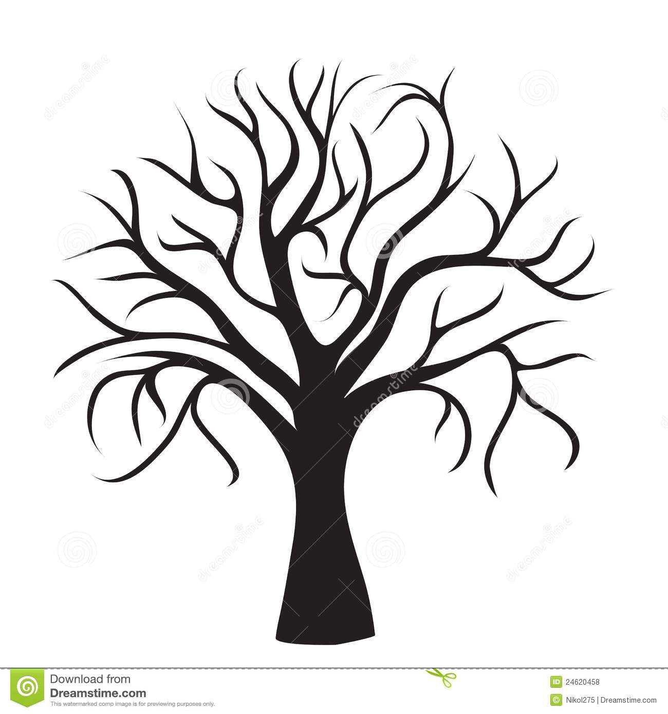 Clip Art Tree No Leaves | Clipart Panda - Free Clipart Images
