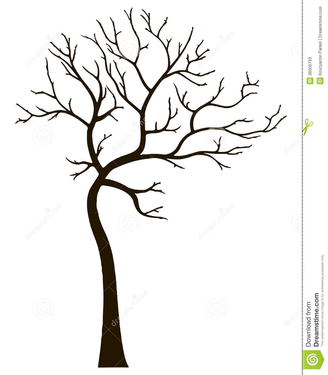 tree vector image free decor royalty vectorstock decorative