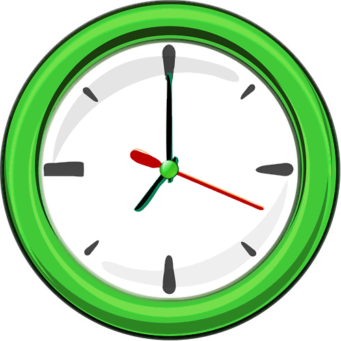 Image result for clock clip art