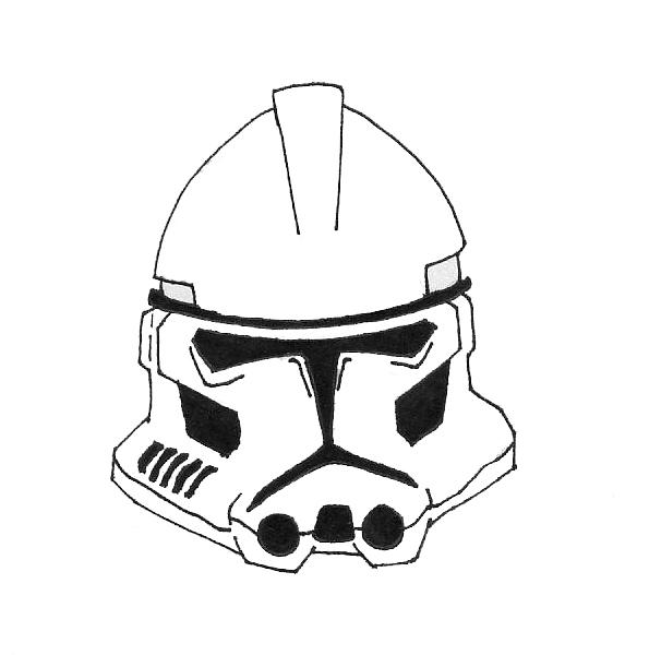 How To Draw Star Wars Clones 114