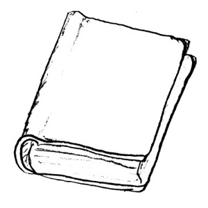 closed book clipart black and white clipart panda free