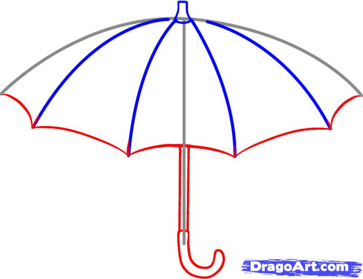 Line Drawing Umbrella : Closed umbrella sketch clipart panda free images