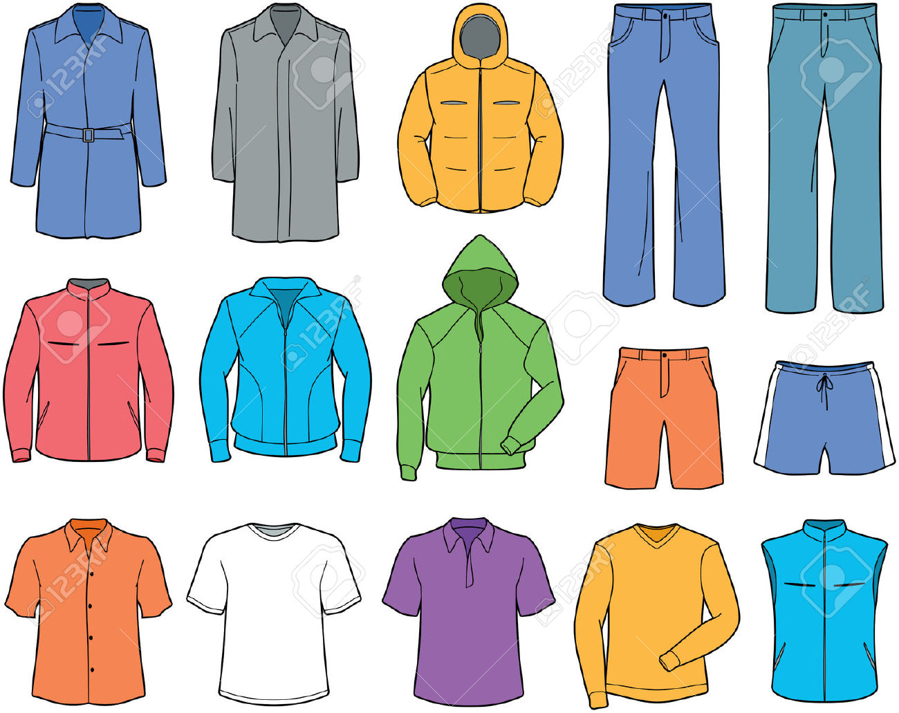 clothes clipart images - photo #4
