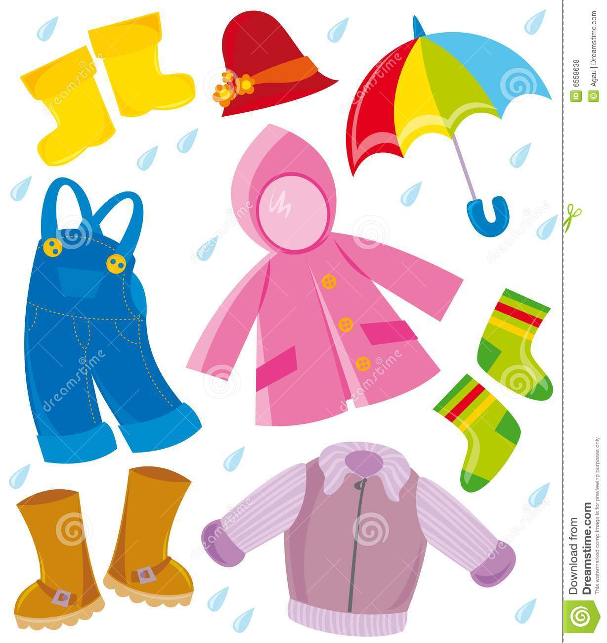 Clothing Clip Art Kids