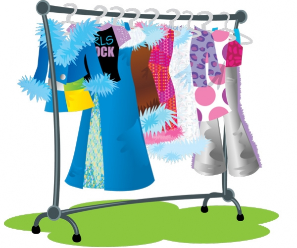 Clip Art Clothes Rack