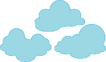 graphic regarding Printable Clouds known as Cloud Clip Artwork Printable Pics Clipart Panda - Absolutely free
