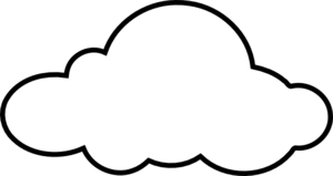 Clouds Clipart Black And White | Clipart Panda - Free Clipart Images