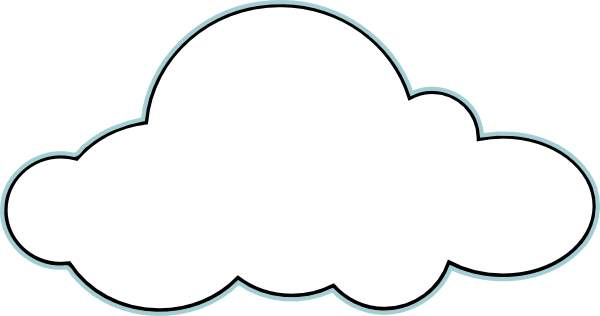 photograph regarding Printable Cloud named Cloud Clip Artwork Printable Shots Clipart Panda - Totally free
