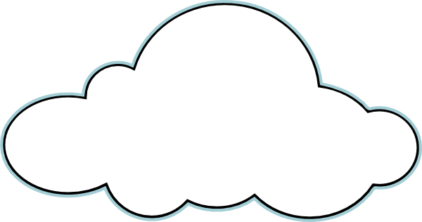 Cloud Outline Clipart | Clipart Panda - Free Clipart Images