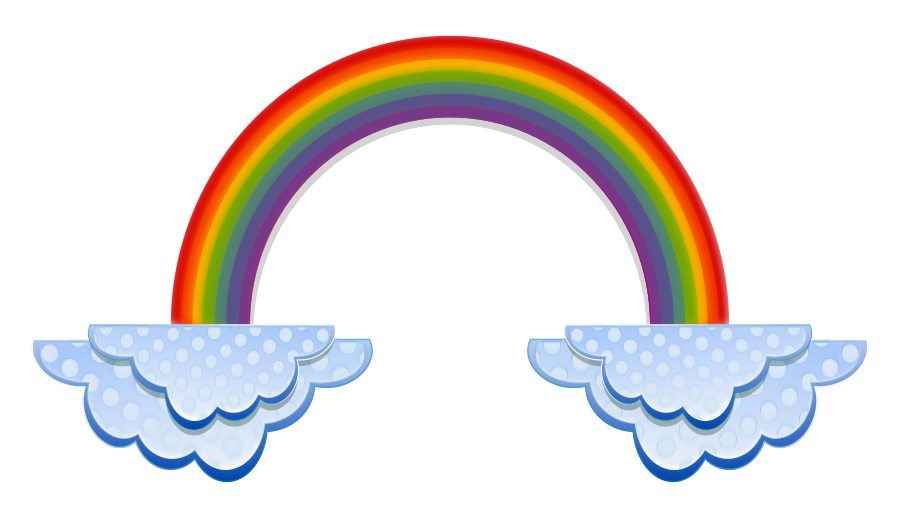 clouds-clip-art-Rainbo...