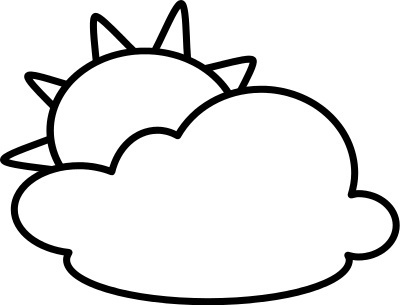 Weather Clipart Black And White | Clipart Panda - Free Clipart Images