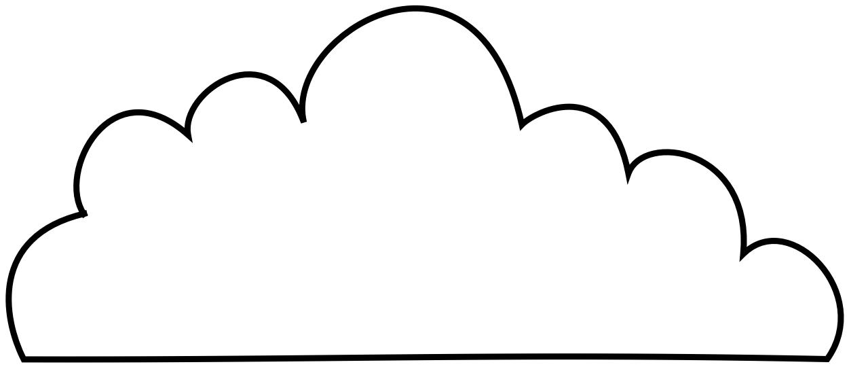 cumulus cloud coloring pages - photo#32