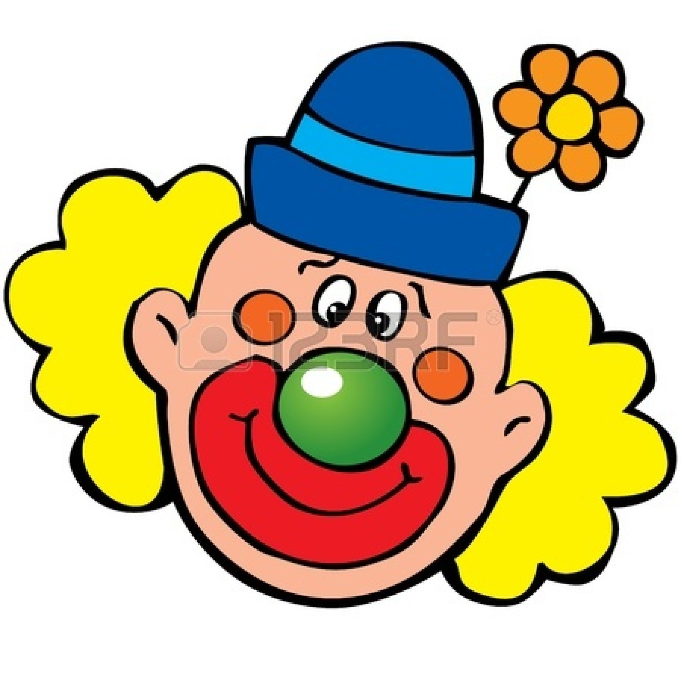 clip art clowns with balloons - photo #26