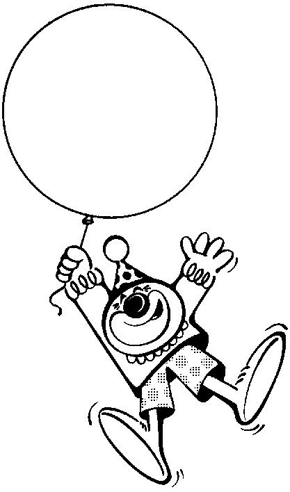 Clown Clipart Black And White Clipart Panda