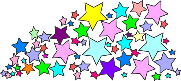 blue star clusters clip art - photo #18