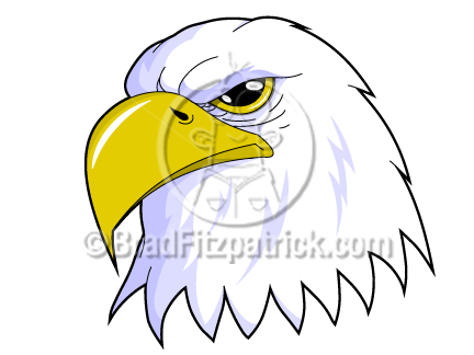 Cute Eagle Clipart Black And White | Clipart Panda - Free Clipart ...