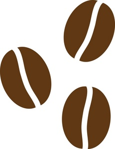 Coffee Bean Clipart Black And White | Clipart Panda - Free ...