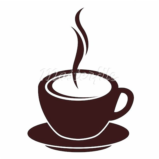 Coffee Cup Clip Art Black White   Clipart Panda - Free ...