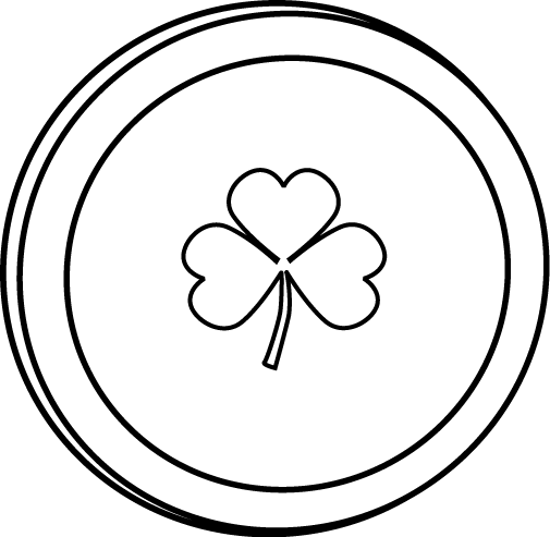 Coin Clip Art Black And White Clipart Panda Free