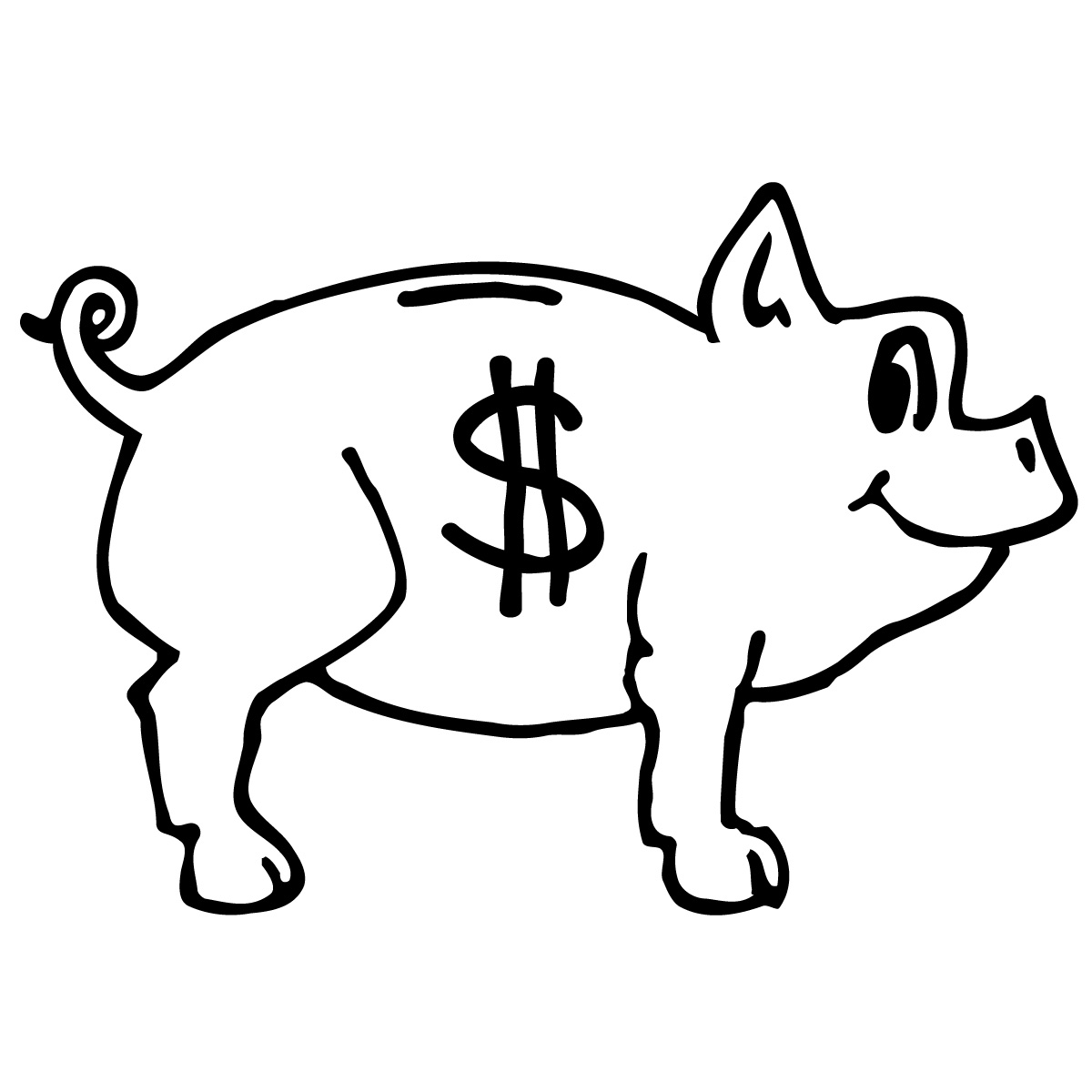 dollar sign clipart black and white clipart panda free