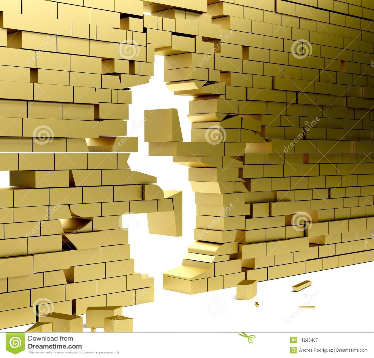 Collapsing wall making a | Clipart Panda - Free Clipart Images