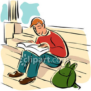 Students Reading Clipart | Clipart Panda - Free Clipart Images