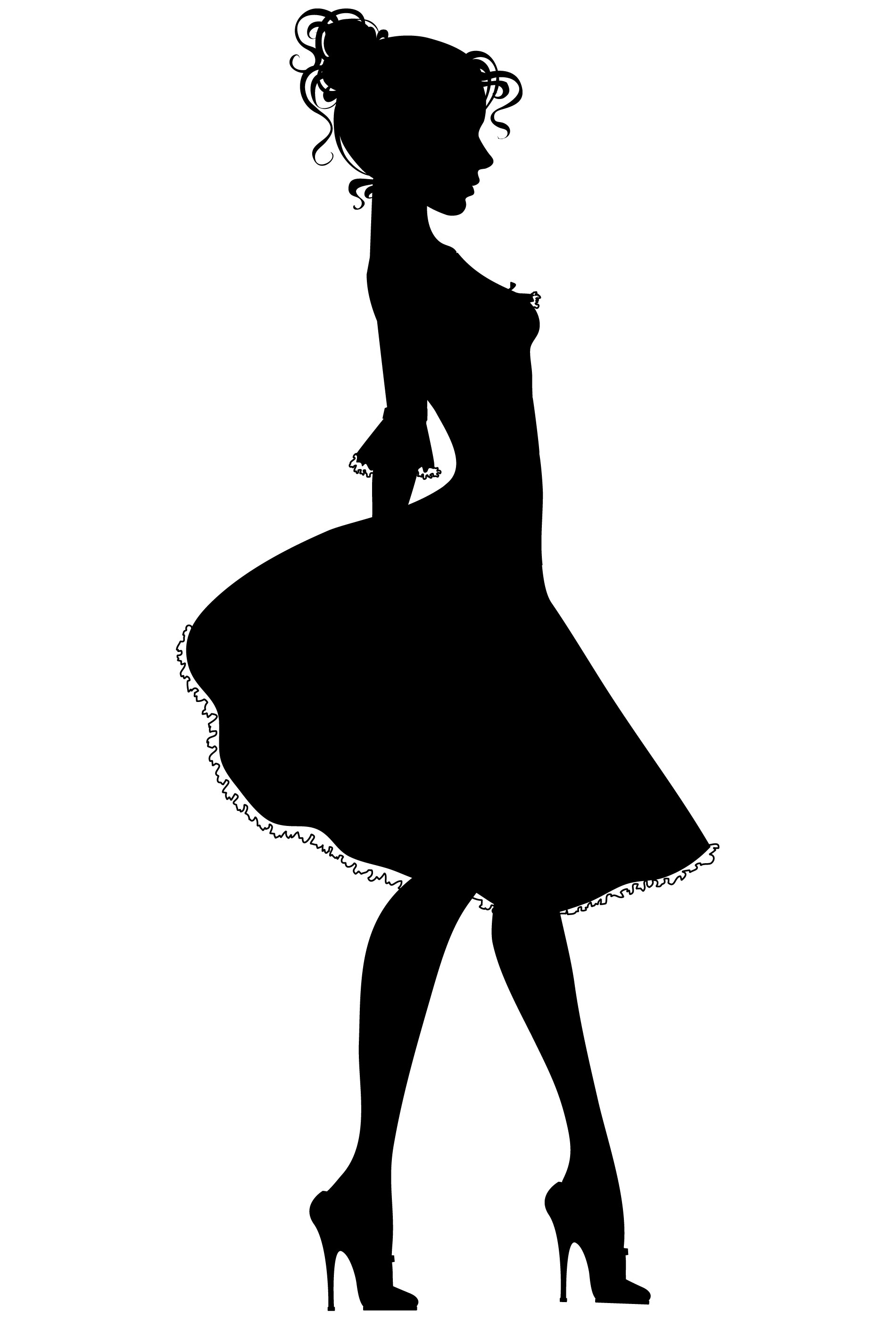 College Student Silhouette Clipart Panda Free Clipart