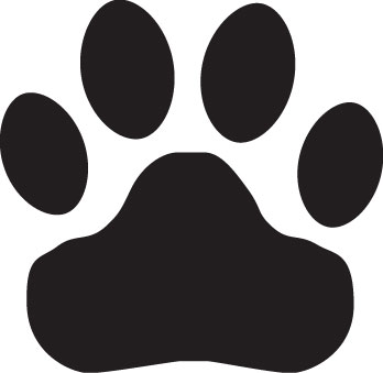 Tiger Paw Clipart Black And White | Clipart Panda - Free Clipart ...