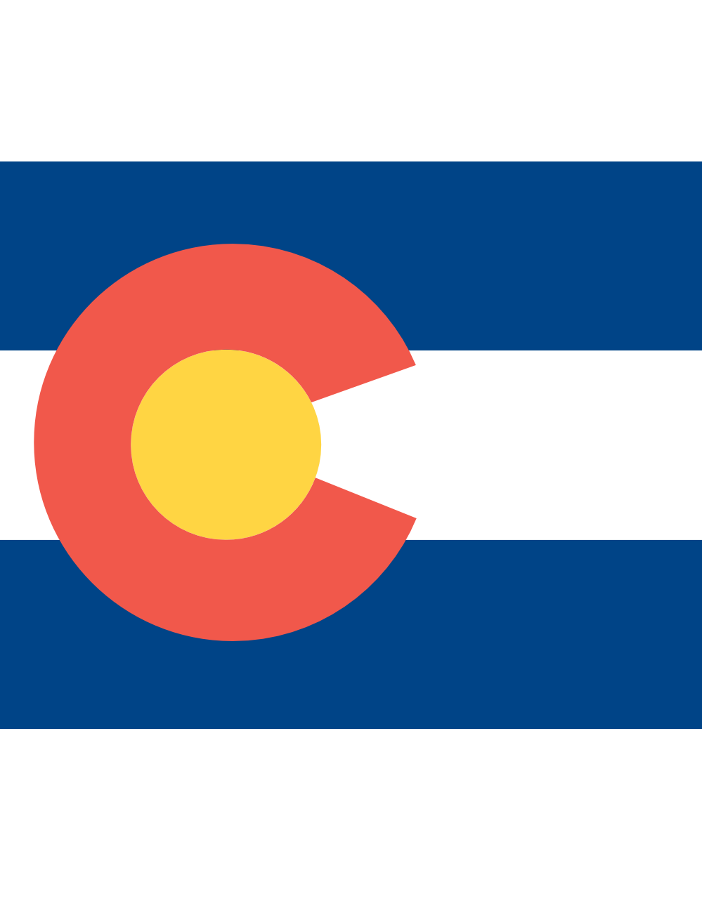 colorado flag vector clipart clipart panda free clipart images rh clipartpanda com Colorado Flag Outline colorado state flag vector