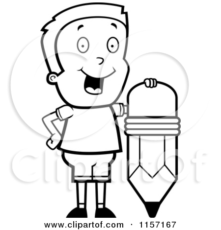Colored Pencils Clipart Black And White