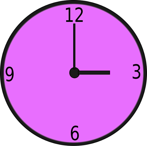 Colorful Clock Clipart | Clipart Panda - Free Clipart Images