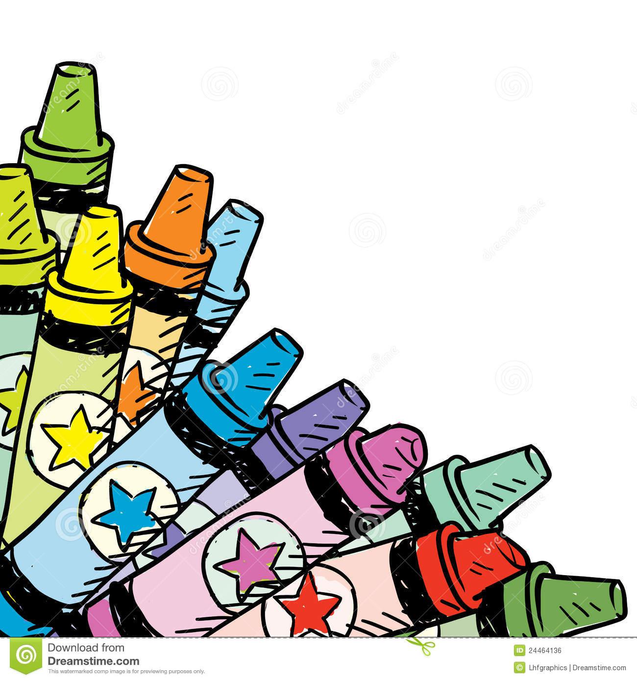 Crayon Border Clipart Panda Free Clipart Images