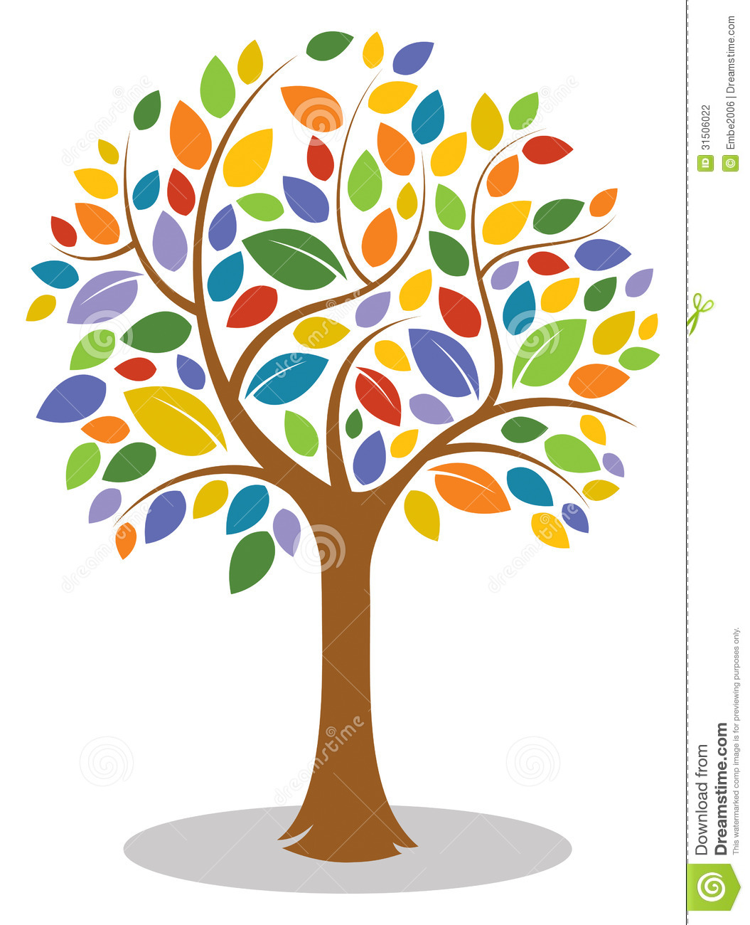 Family colorful. Tree background clipart panda