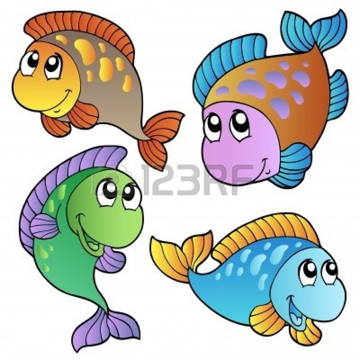 cartoon fische