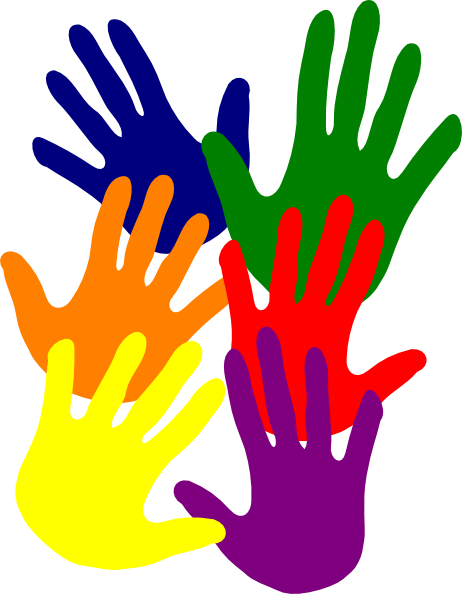 Colorful Hands Clipart | Clipart Panda - Free Clipart Images