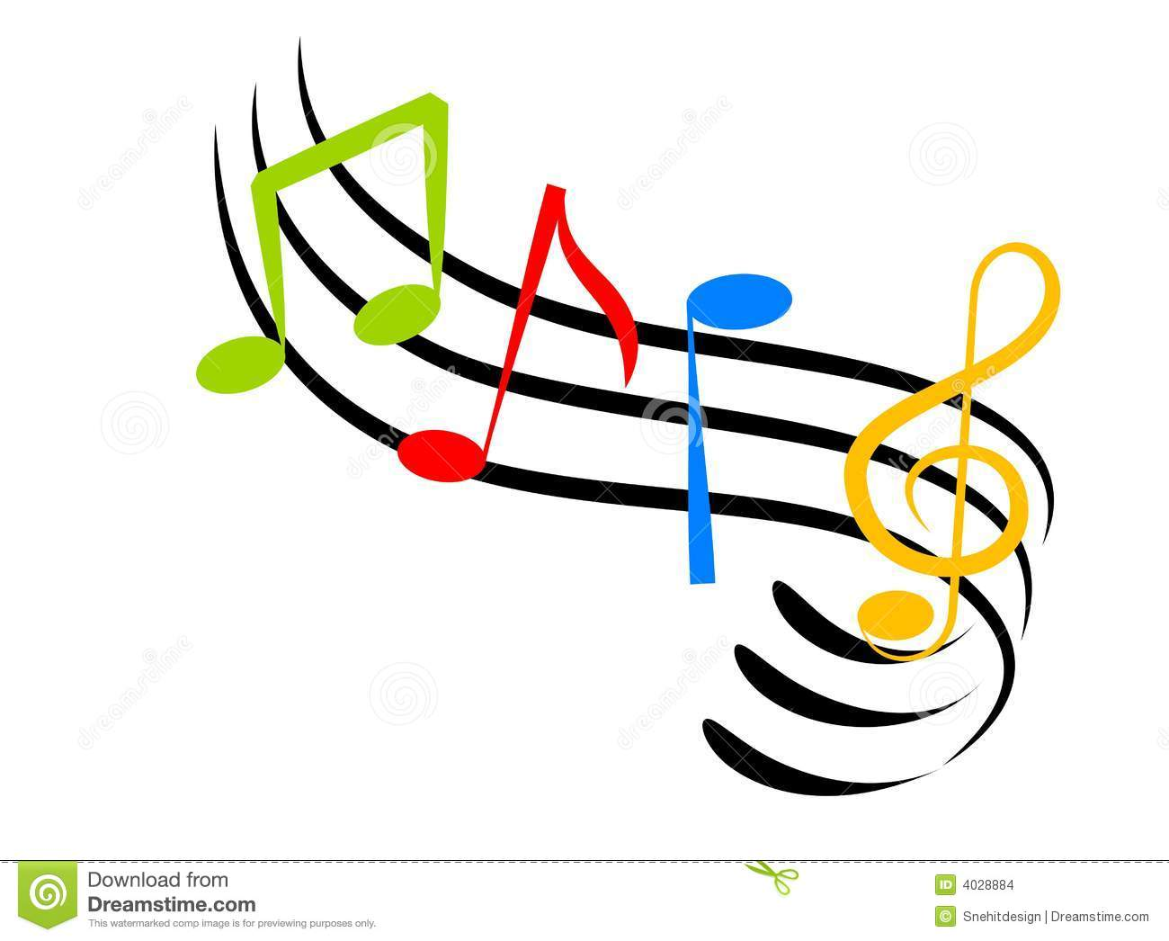 Free Music Background Clipart Download Free Clip Art: Colorful Musical Notes Wallpaper
