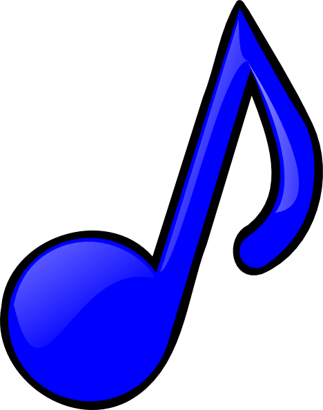colorful music note cl...