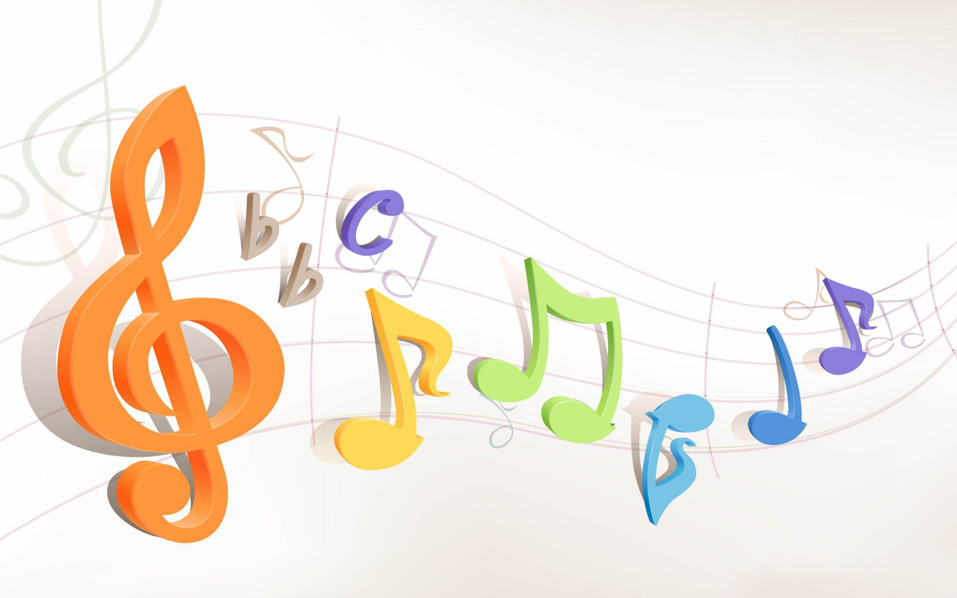 Music Notes Wallpaper  WallDevil