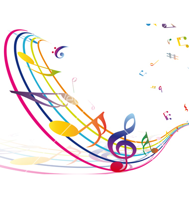 Colorful Musical Notes Border | Clipart Panda - Free ...