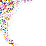 Colorful Music Notes Border | Clipart Panda - Free Clipart ... Rainbow Music Notes Border
