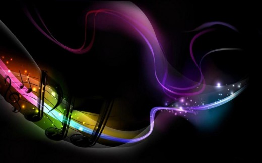 Cool Music Note Wallpapers: Colorful Music Notes Symbols