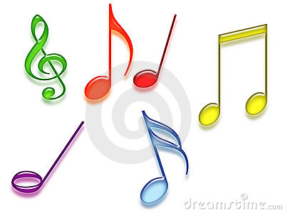 Colored Music Symbols In The Clipart Panda Free Clipart Images