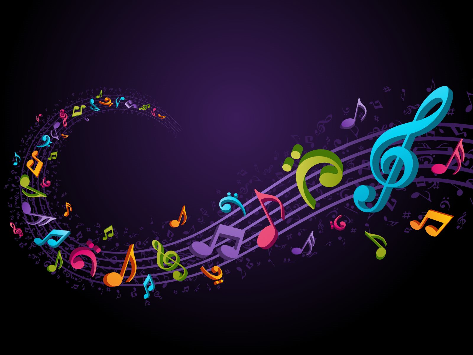Music Notes Backgrounds Wallpaper