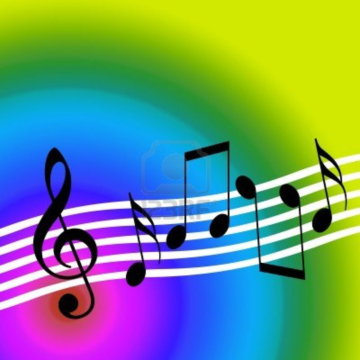 Clipart Musical Notes Dancing 80